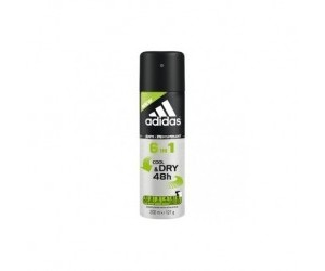 Adidas Deo 150ml 6v1 Cool & Dry 48h