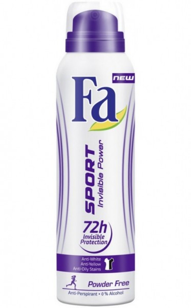 Fa deo 150ml  invisible Power