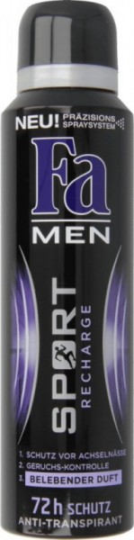 Fa deo 150ml Men Sport Recharge