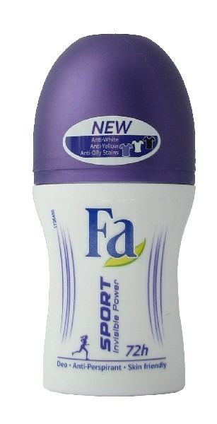 Fa Roll on 50ml Sport Invisible Power