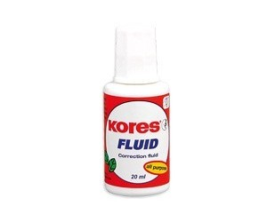 Kores korektor tekutý Fluid, 20ml