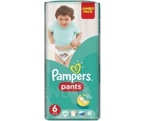 Pampers Plenkové kalhotky ActivePants S6 ExtraLarge Jumbo Pack 44 ks