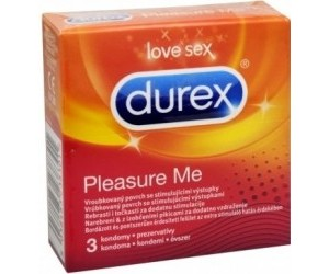 Kondom Pleasure Me 3 ks Durex