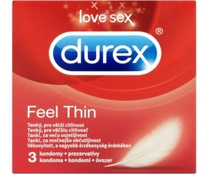 Kondom Feel Thin 3 ks Durex