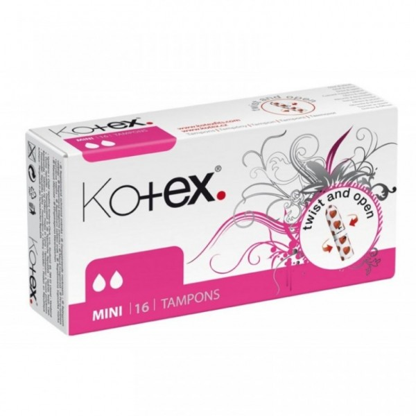 Kotex tampóny 16ks mini