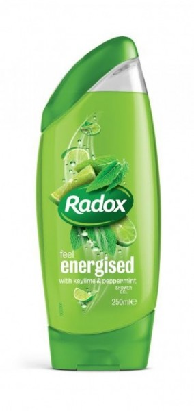 Sprchový gel Radox 250 ml Feel Energised