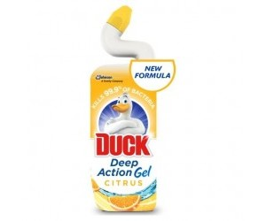 WC 750ml Duck tekutý čistič citrus